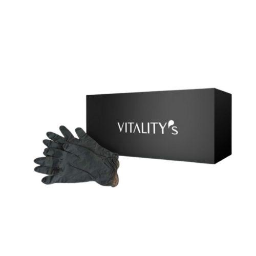 перчатки виталитис черные