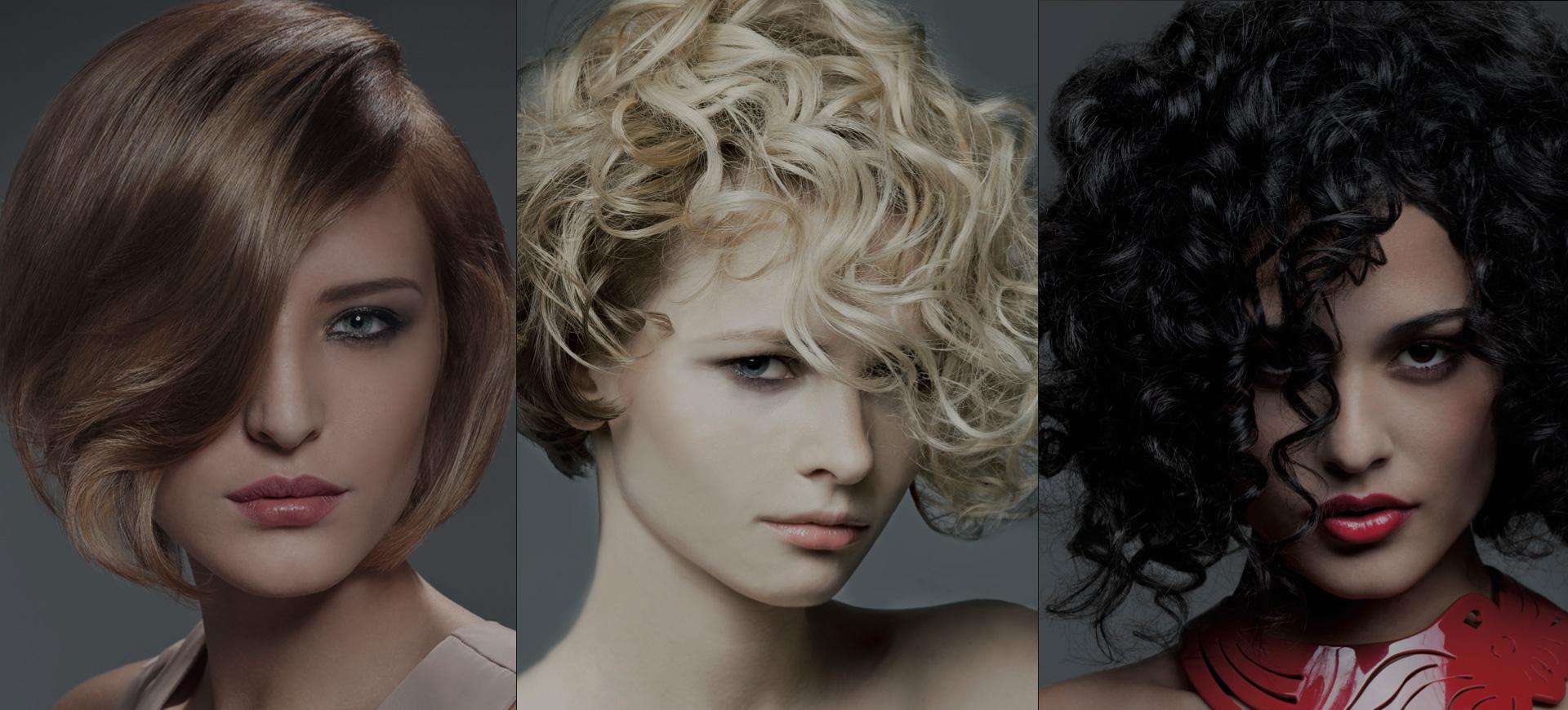 три девушки с разным цветом волос